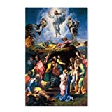 The Transfiguration 1519-20 Artwork by Raphael, 30 by 47-Inch Canvas Wall Art