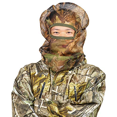 Feyachi Full Camo Face Mask for Concealment Bowhunting Duck Turkey Hunting Face Mask -Camouflage Face Mask for Hunting from Feyachi