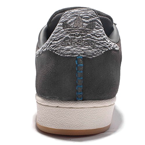 Adidas Mens Shoes Superstar Grey Trainers Sneakers Solid Originals Grey Solid aSraqxg