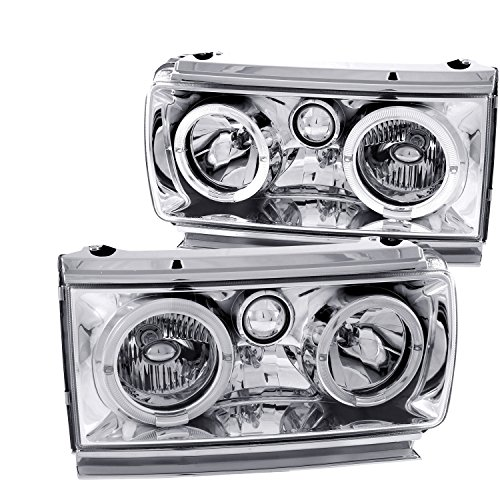 Anzo USA 111092 Toyota Land Cruiser Crystal With Halo Headlight Assembly - (Sold in Pairs)