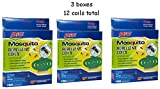 Pic Mosquito Repellent Coils, 4 Coils (Pack of 3)