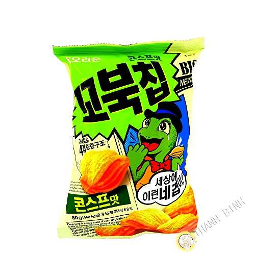 Korean Orion New Four Layers Turtle Chips Corn Soup Flavor 3 Packs