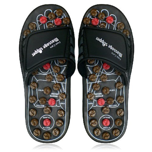 Relaxso-Massage-Orthotic-Slippers-with-Acupressure-Knobs