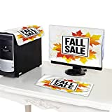 Miki Da Computer Fan dust Cover 27'' Monitor Set Autumn Sale Seasonal Banner or Poster design11112
