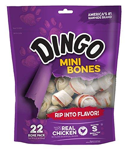 Dingo Mini Bones, 22 pack (99040) (Dingo Big Chew)