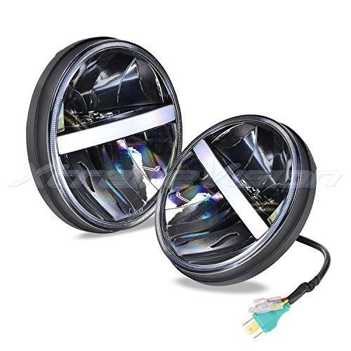 2019 Model H13//9008 Dual Beam LED Headlight Kit XtremeVision V4 32W 4,800LM LED Bulb Fanless Design 6500K Korea CSP LED
