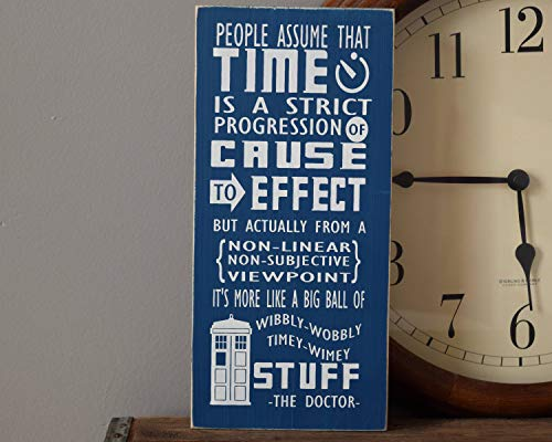 SLobyy Doctor Who Quote: Big Ball of Wibbly-Wobbly Timey-Wimey Stuff 12