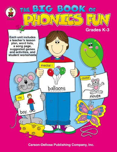 Amazon.com: The Big Book of Phonics Fun, Grades K - 3 ...
