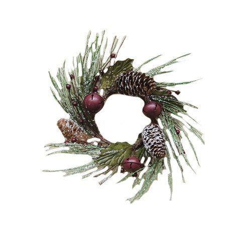 CWI Gifts Snowy Pine Bell Ring, 3.5-Inch ()