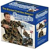 Snuggie Fleece Blanket with Sleeves, Camoflauge