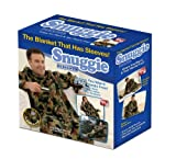 Snuggie Fleece Blanket with Sleeves, Camoflauge