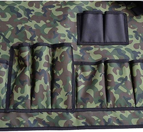 KaKaDz SunShiBV Tablier de barbecue universel multifonction Camouflage Oxford
