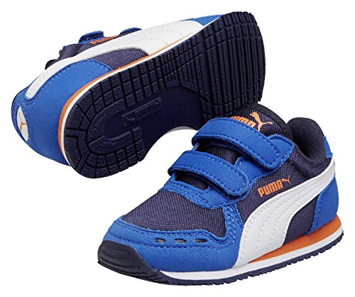 PUMA Cabana Racer Mesh V Kids - Zapatillas para niños Azul oscuro