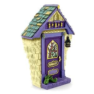 """Miniatura Jardín de hadas """"Ashbury–"""" solar puerta de hadas"""