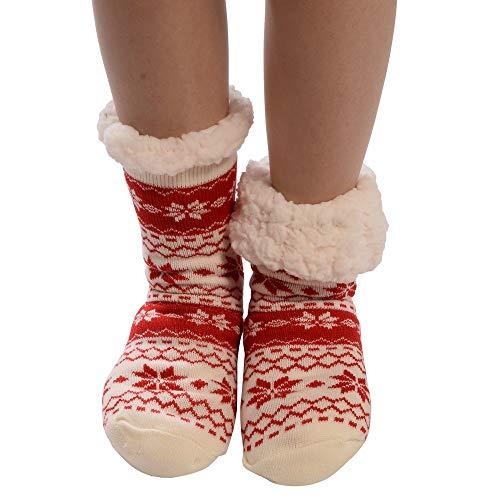Hot Sale!!! Expxon Women Cotton Socks Christmas Socks Animal Print Stockings Thicker Anti-Slip Floor Socks Carpet Socks Christmas Gifts Christmas Stockings Personalized Xmas ()