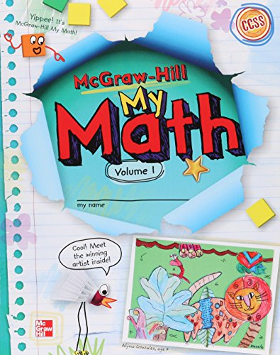 Mcgraw Hill My Math  Grade 2  Student Edition  Volume 1  Elementary Math Connects