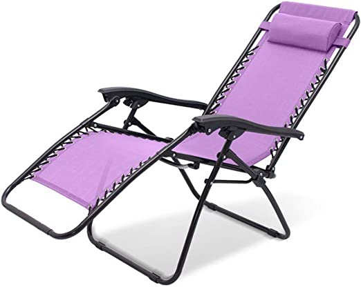 Chair Tumbona Plegable Acolchada Tumbona Plegable Ligera Tumbona ...