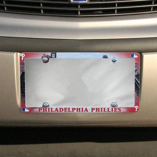 Philadelphia Phillies Official Home Plate - WinCraft MLB Philadelphia Phillies LIC Full Color Plate Frame