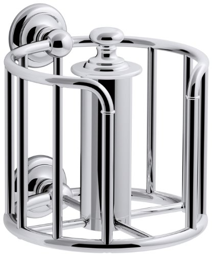 KOHLER K-72576-CP Artifacts Toilet tissue carriage, Polished Chrome (Carriage Polished)