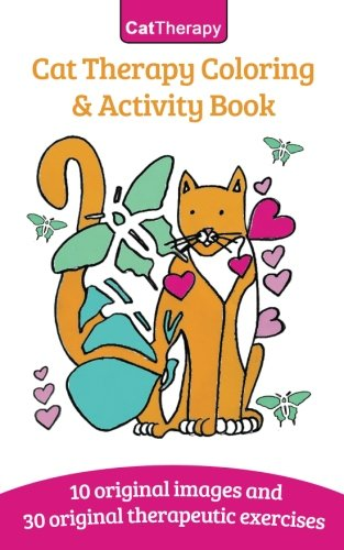 Download Cat Therapy: Coloring And Activity Book PDF