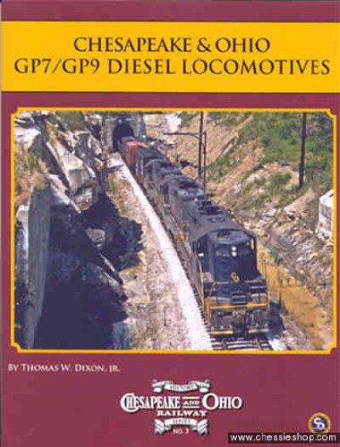 Gp9 Diesel Locomotive - Chesapeake & Ohio GP7/GP9 Diesel Locomotives (Chesapeake and Ohio Railway)