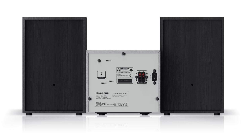 CD-MP3 Bluetooth e USB Playback Sharp XL-B510 Micro Sound System 40 W