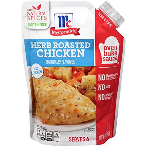 McCormick Oven Bakes Herb Roasted Chicken, 9 oz (Case of 6) Oven Roasted Chicken