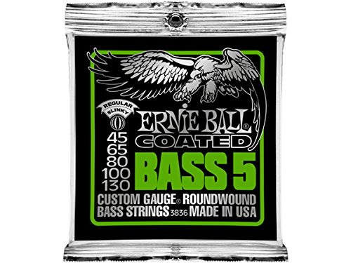 ERNIE BALL #3836×3SET☆Coated Regular Slinky Bass 5(5弦ベース用)アーニーボールベース弦 B00M5XQF18