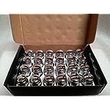 AccuWheel LNA-12000C6 Chrome Bulge Acorn Wheel Lug Nuts (1/2