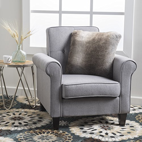 Christopher Knight Home Isaac Arm Chair, Grey