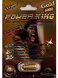 Triple Power King Gold 6000 Male Sexual Performance Enhancement Pill 6PK