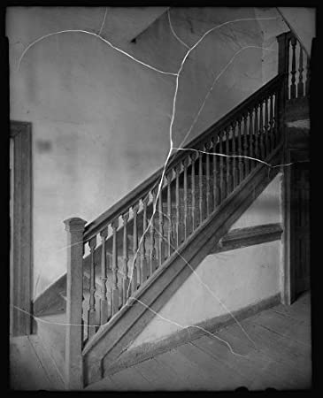 Infinite Photographs Foto: Rolfe House, escaleras, balaustres, barandillas, Surry, Virginia, Arquitectura, Sur, 1933: Amazon.es: Hogar