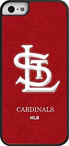 MLB Team Logo, St. Louis Cardinals Team Logo Case For Ipod Touch 5 Cover (BlacSt. Louis Cardinals 1