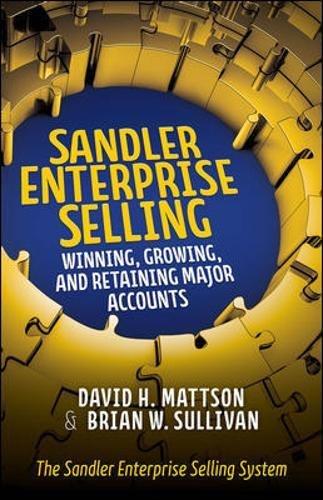 Download Sandler Enterprise Selling:  Winning, Growing, and Retaining Major Accounts pdf epub