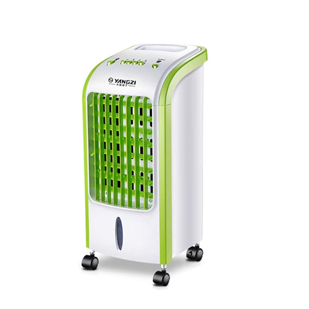ポータブルエアコン - 加湿器と4wheels、空気循環器3ファン速度、寝室のための氷結晶とサイレントデザインエアコンファンと蒸発エアコン   B07GCN42R9