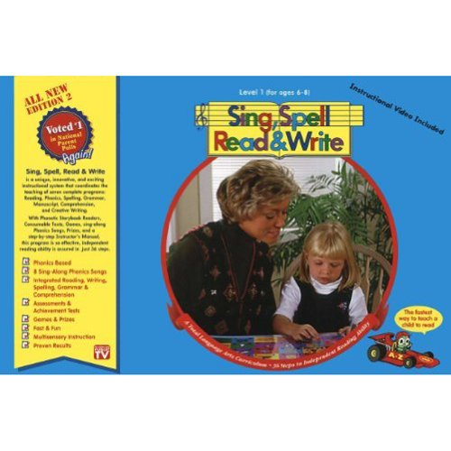 (LEVEL 1 HOME KIT, SECOND EDITION, SING SPELL READ AND WRITE)