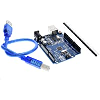 Ai-STORE Arduino Uno R3 Smd Development Board With Usb Cable, CH340 CHIP