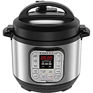 Instant Pot Duo Mini 3qt 7-in-1 Multi-Use Programmable Pressure Cooker, Rice Cooker 12 Cups Rice (Cooked)