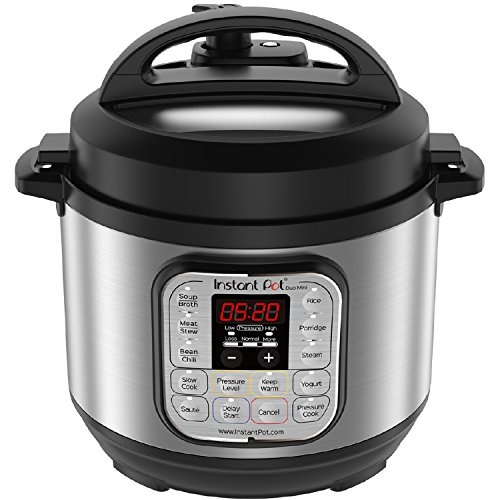Cooks Essentials Pot (Instant Pot Duo Mini 3 Qt 7-in-1 Multi- Use Programmable Pressure Cooker, Slow Cooker, Rice Cooker, Steamer, Sauté, Yogurt Maker and Warmer)