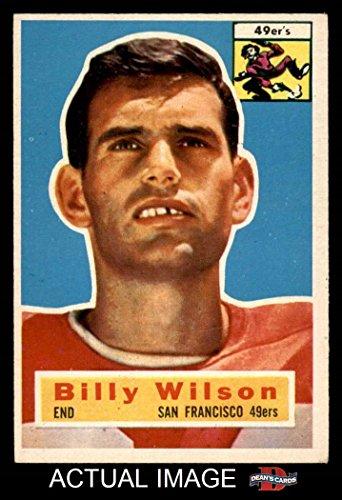 1956 Topps # 62 Billy Wilson San Francisco 49ers (Footbal...