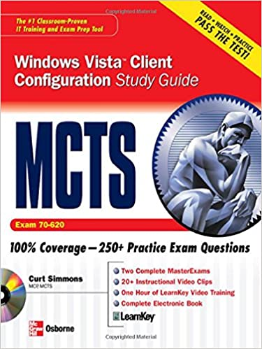 MCTS Self-Paced Training Kit Configuring Windows Server 2008 Applications Infrastructure Exam 70-643