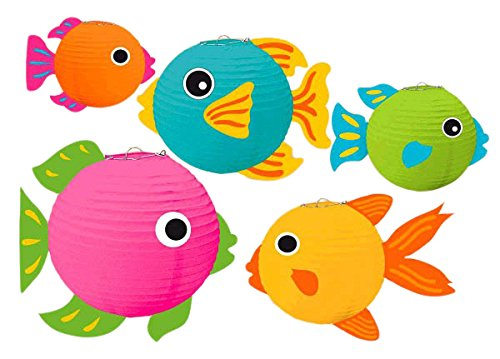 Amscan Fish Party Lantern Kit -