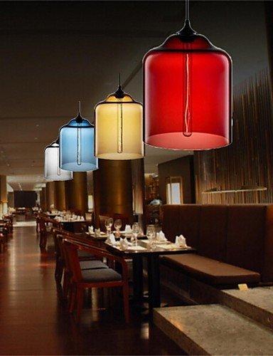 swent moderna Fácil/Retro/LED de pendelleuchten Retro Creativo Single Head Cristal Lámpara colgante Bar Bar Bar Cafe restaurante en pecera, 220 - 240 V, ...