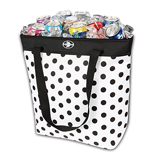 Arctic Zone Dots Thermal Tote