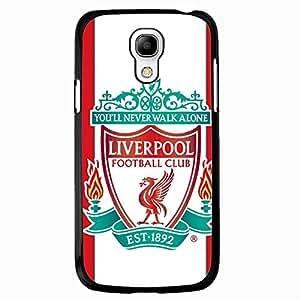 Samsung Galaxy S4 Mini Case,Livepool Football Club Logo Protective Phone Case Black Hard Plastic Case Cover For Samsung Galaxy S4 Mini