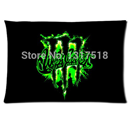 Ruby Opal monster energy Pillow Cover For Sale Rectangle Pillowcase (20x30) (Monster Energy Things compare prices)