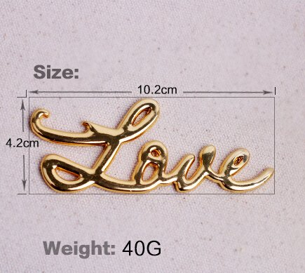 Gold Love Antique Bottle Opener For Wedding Favor (96)