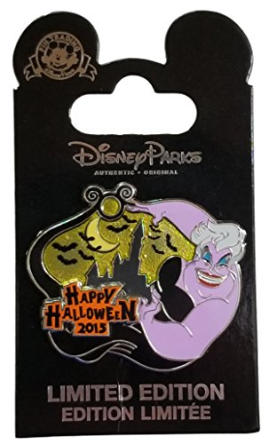 Disney Pin - Cast Exclusive - Ursula Happy Halloween 2015 (Metal Ursula)