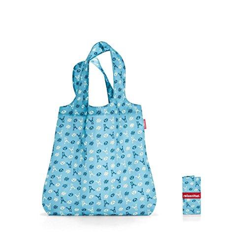 Reisenthel Mini Maxi Shopper Bavaria Denim 15L Borsa della spesa pieghevole sacchetto