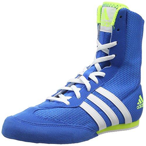 adidas Box Hog Men's Boxing Boots, Blue, US8.5